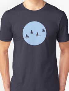 Travellers - Phone Home - Silhouette T-Shirt