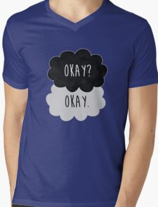 Okay? Okay. Mens V-Neck T-Shirt
