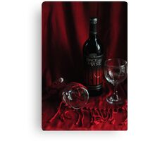 Once upon a Wine Canvas Print