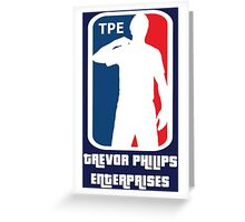 T.P.E. Greeting Card
