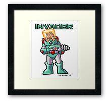 Invader Framed Print