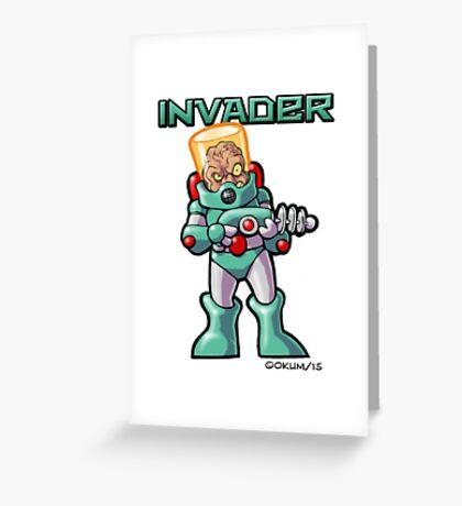 Invader Greeting Card