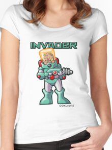 Invader Women's Fitted Scoop T-Shirt