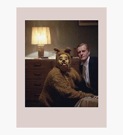 The Shining Dog Suit Photographic Print