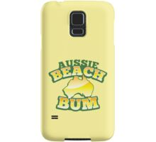 Aussie Beach Bum cute Australian design with map of Australia Samsung Galaxy Case/Skin