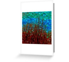 Marine Seascape Greeting Card