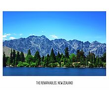 The Remarkables, New Zealand Photographic Print