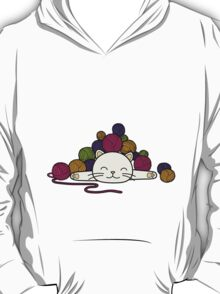 cat and wool 2 T-Shirt