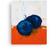 Sunken Blueberry Canvas Print