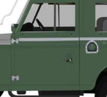 1963 Series 2a Landrover Sticker