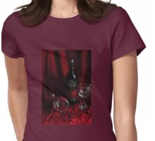 Once upon a Wine Womens Fitted T-Shirt