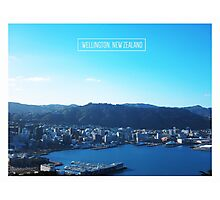 Wellington, New Zealand Photographic Print