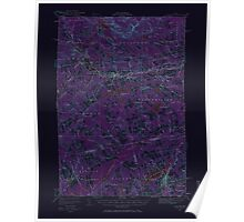 Maine USGS Historical Map Guilford 306600 1933 62500 Inversion Poster