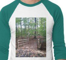 Enter into His gates... Men's Baseball ¾ T-Shirt
