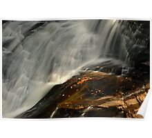 High Falls, Dupont State Park, North Carolina Poster