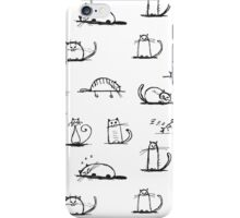 CATS | PATTERN  iPhone Case/Skin