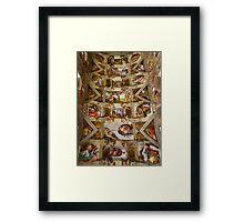 Sistine Chapel Framed Print