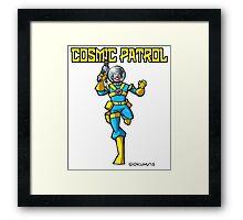Cosmic Patrol Framed Print