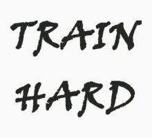 TRAIN HARD Kids Tee