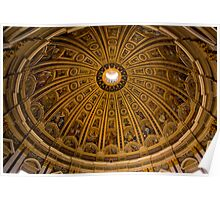 The Dome of St.Peters Basillica Poster