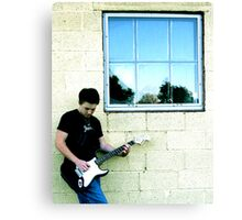 Lead Guitar Canvas Print