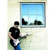 Lead Guitar Photographic Print