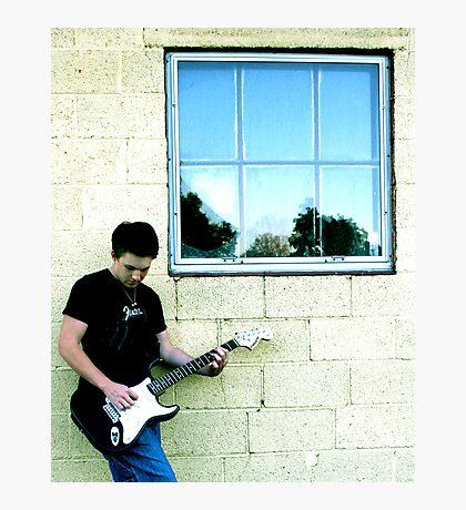Lead Guitar Photographic Print