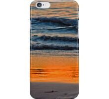 Abstract Water Sunset iPhone Case/Skin