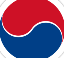 Roundel of South Korea Air Force  Sticker