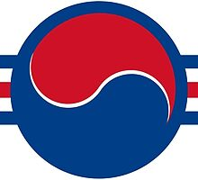 Roundel of South Korea Air Force, 1950s-2000 by abbeyz71
