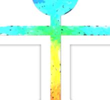 Rainbow Warrior Tee Sticker