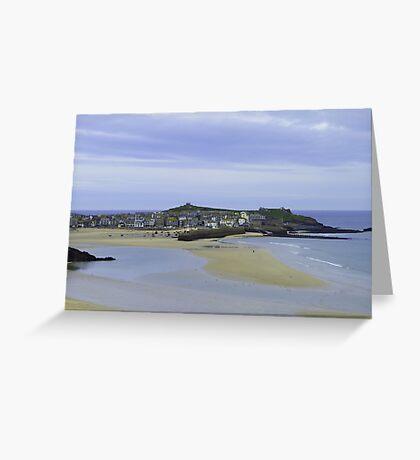 Coastline. Greeting Card