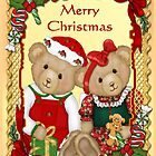 Sweet Christmas Bears  by SpiceTree