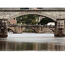 Bridges Over the Charente Photographic Print