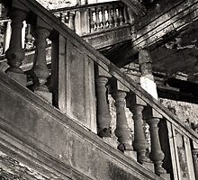 The stairs. by Francisco Larrea