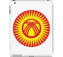 Roundel of Kyrgyzstan Air Force iPad Case/Skin