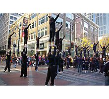 MACYS DAY PARADE IN SEATTLE Photographic Print