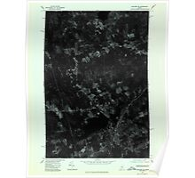 Maine USGS Historical Map Guilford SE 806745 1975 24000 Poster