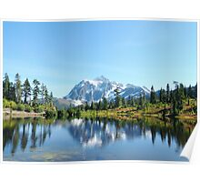 """ Reflections of Fall Mountain "" Poster"