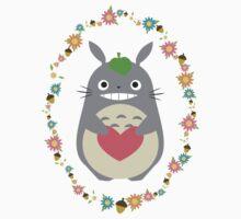 Totoro Love by KaeleDesu