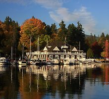 Stanley Park In Autumn by xiaotomjm