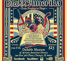 Blakk Amerika - From Prophets to Pimps Poster by NatanYah Ysrayl