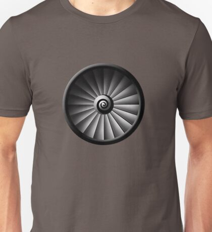 Jet Engine Unisex T-Shirt