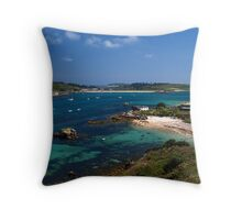Tresco Channel Throw Pillow