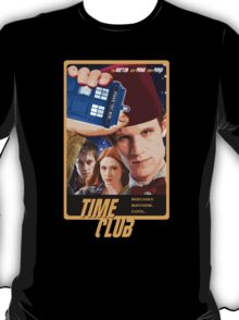 Time Club | Doctor Who | The Eleventh Doctor & Amy Pond & Rory Pond | Fez T-Shirt
