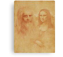 """Leonardo Da Vinci"" Canvas Print"