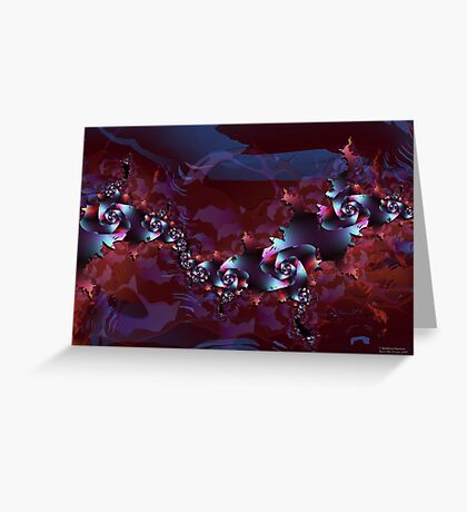 Evening in Paradise Greeting Card
