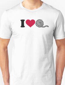 I love wool Unisex T-Shirt