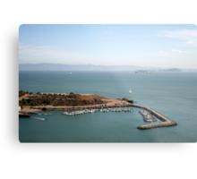View from Golden Gate bridge San Francisco CA Metal Print