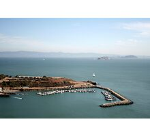 View from Golden Gate bridge San Francisco CA Photographic Print